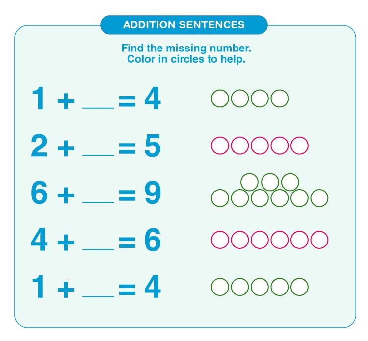 Addition Worksheets for Grade 1 2