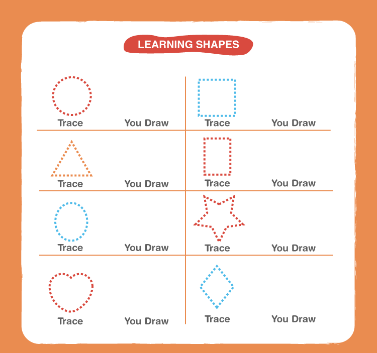 Preschool Shapes Worksheets 2