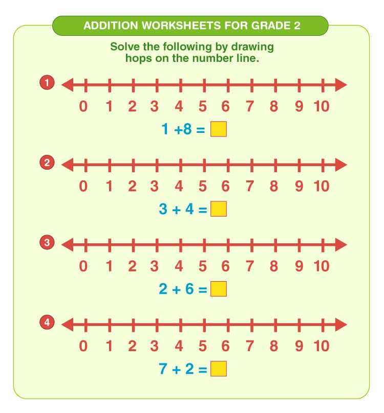 Addition worksheets for grade 2 3