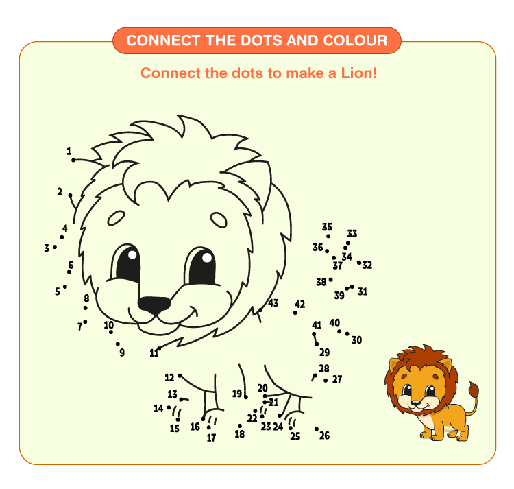 Connect the Dots Worksheets 1