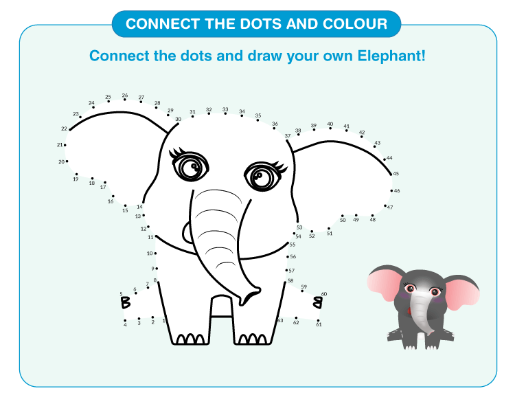 Connect the Dots Worksheets 2