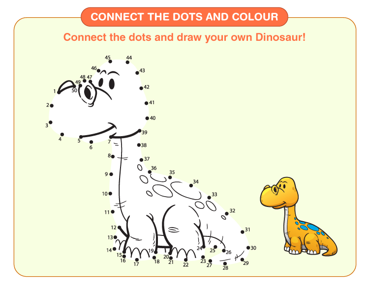 Connect the Dots Worksheets 3