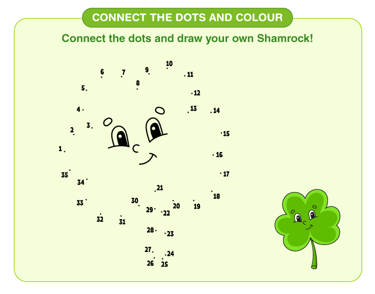Connect the Dots Worksheets 4