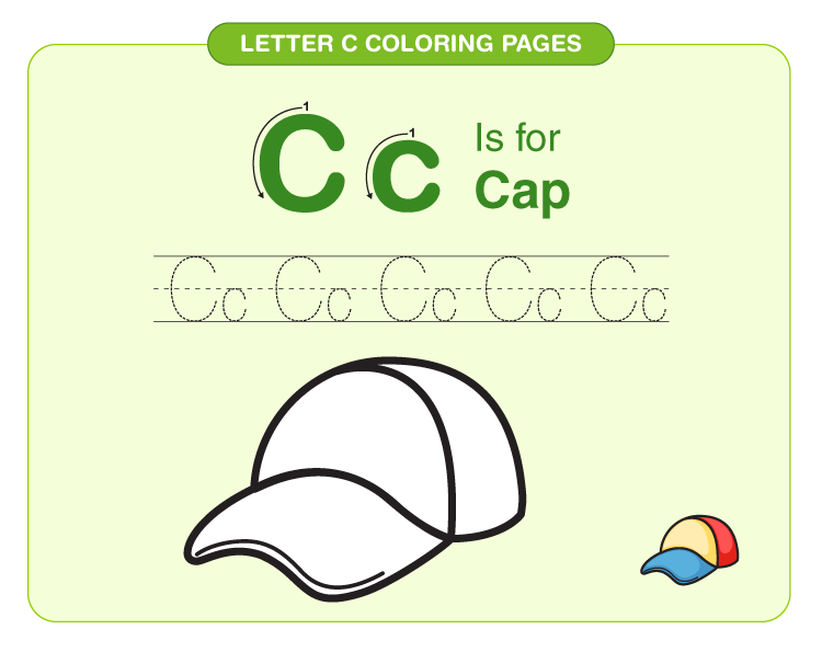 Letter C Coloring Pages 2