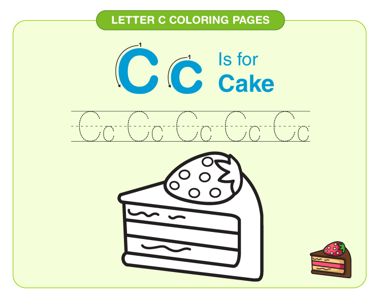 Letter C Coloring Pages 4