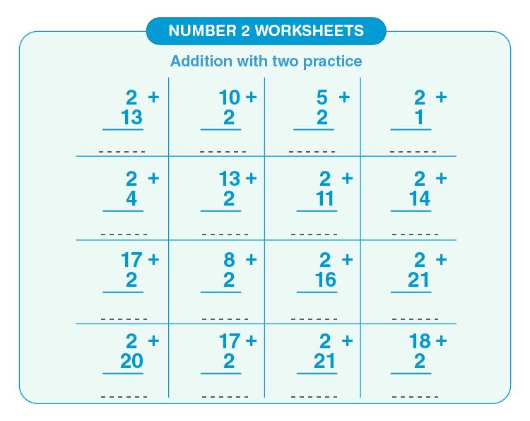 Number 2 worksheets 03