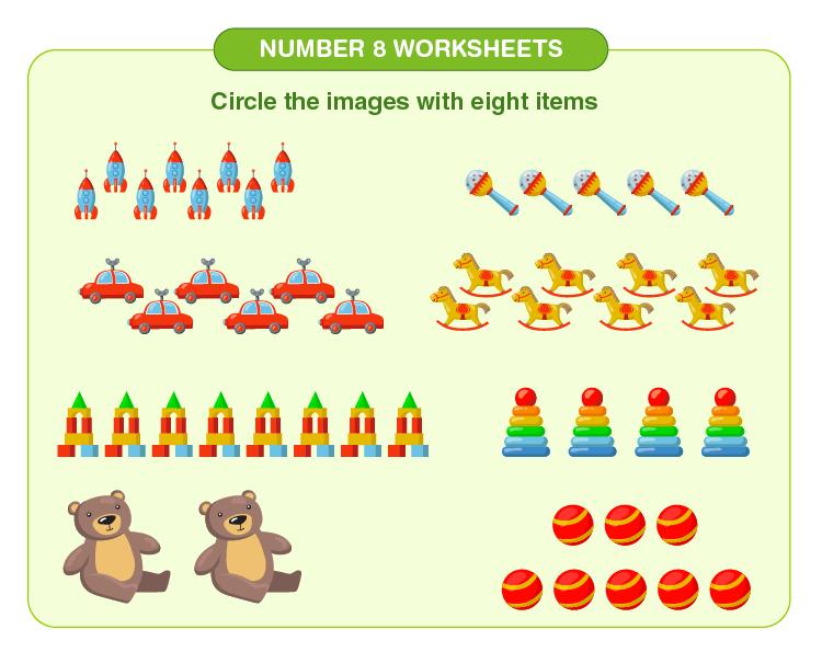 Number 8 worksheets 05