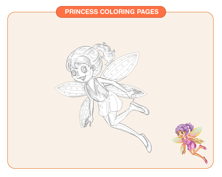Princess Coloring Pages 03