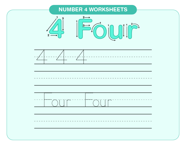 Number 5 Worksheets